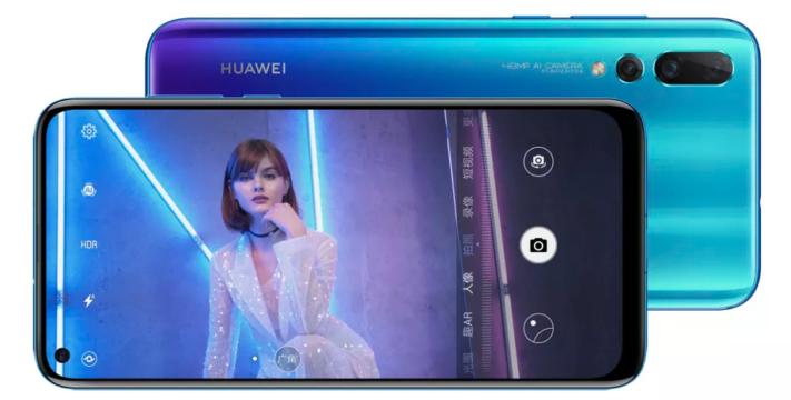 Huawei introducerar Nova 4 med kamera-ö och 48MP-kamera