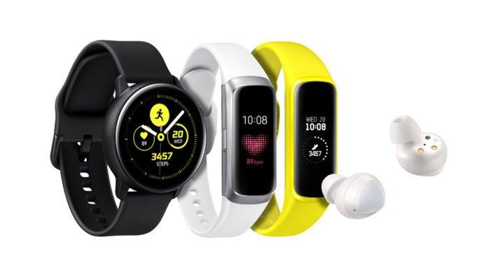 Samsung presenterar nya wearables