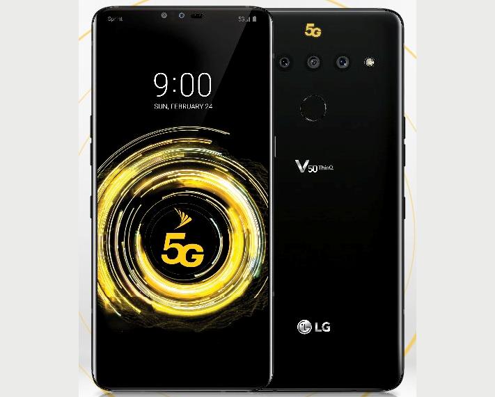 Så här ser LG V50 ThinQ ut enligt @evleaks