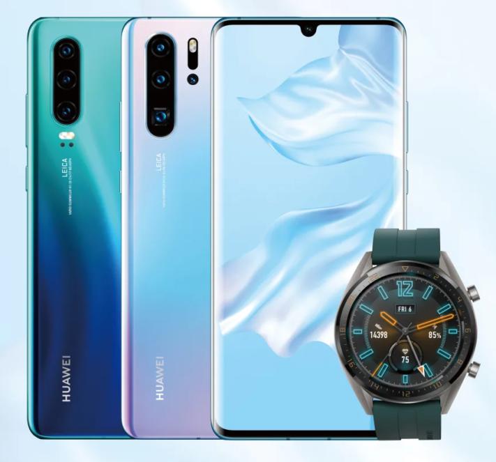 Lækker De som skaffar en Huawei P30 eller Pro får Watch GT på köpet AW-96