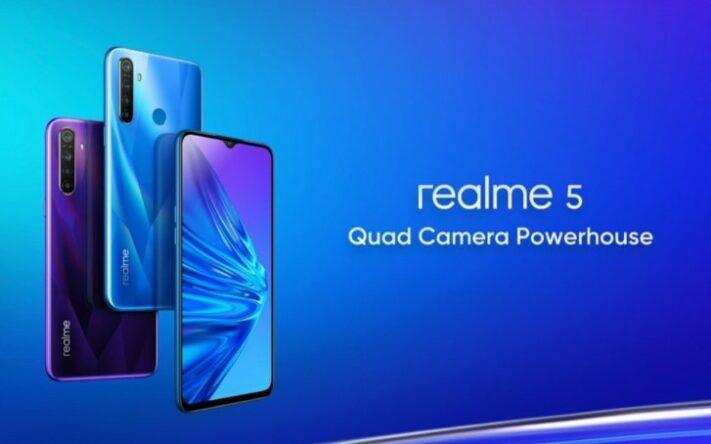 Här är prispressade duon Realme 5 och Realme 5 Pro