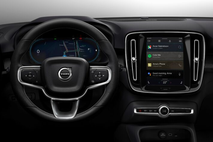 Volvos Nya Elbil Xc40 Utrustas Med Android Automotive Swedroid