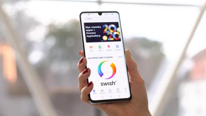 Swish kommer till Huaweis appbutik AppGallery