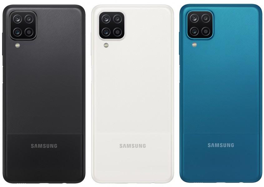 Samsung esittelee keskitason Galaxy A12: n