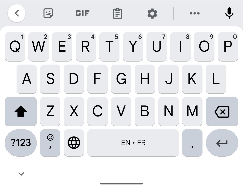 Google arbetar på ny layout för Gboard