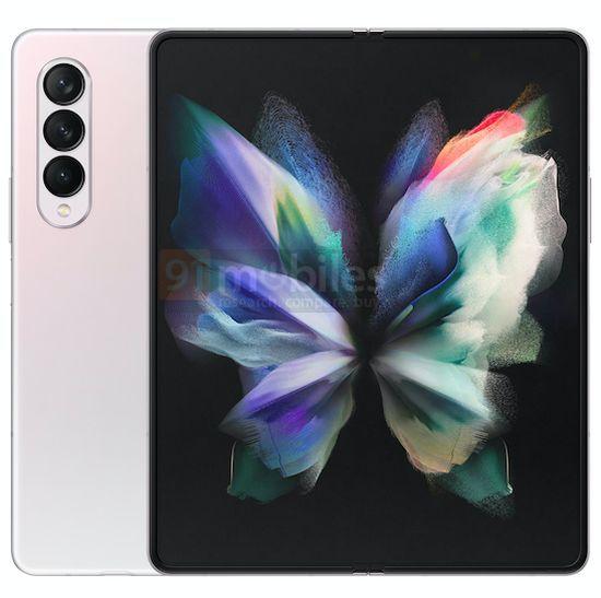 Fler bilder på Samsungs vikbara telefoner – ena har kamera under skärmen